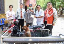มข.เดินหน้าให้บริการฉีดวัคซีนป้องกันพิษสุนัขบ้าชุมชนรอบรั้วอย่างต่อเนื่อง ครั้งที่3
