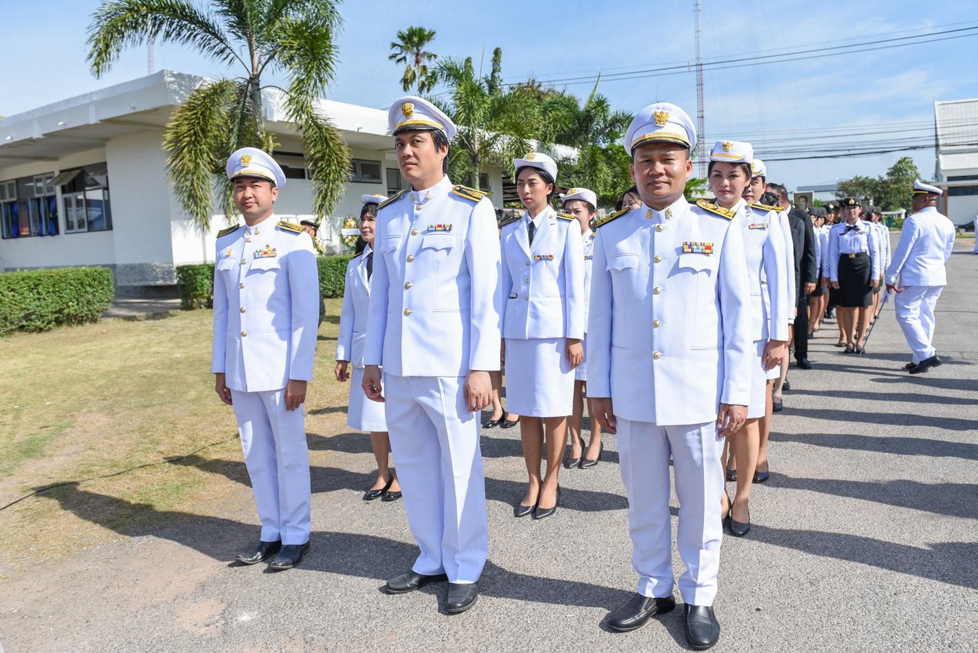 กองสื่อสารองค์กร มข.ร่วมวางพวงมาลา วันคล้ายวันสวรรคต สมเด็จพระศรีพัชรินทราฯ ประจำปี2561