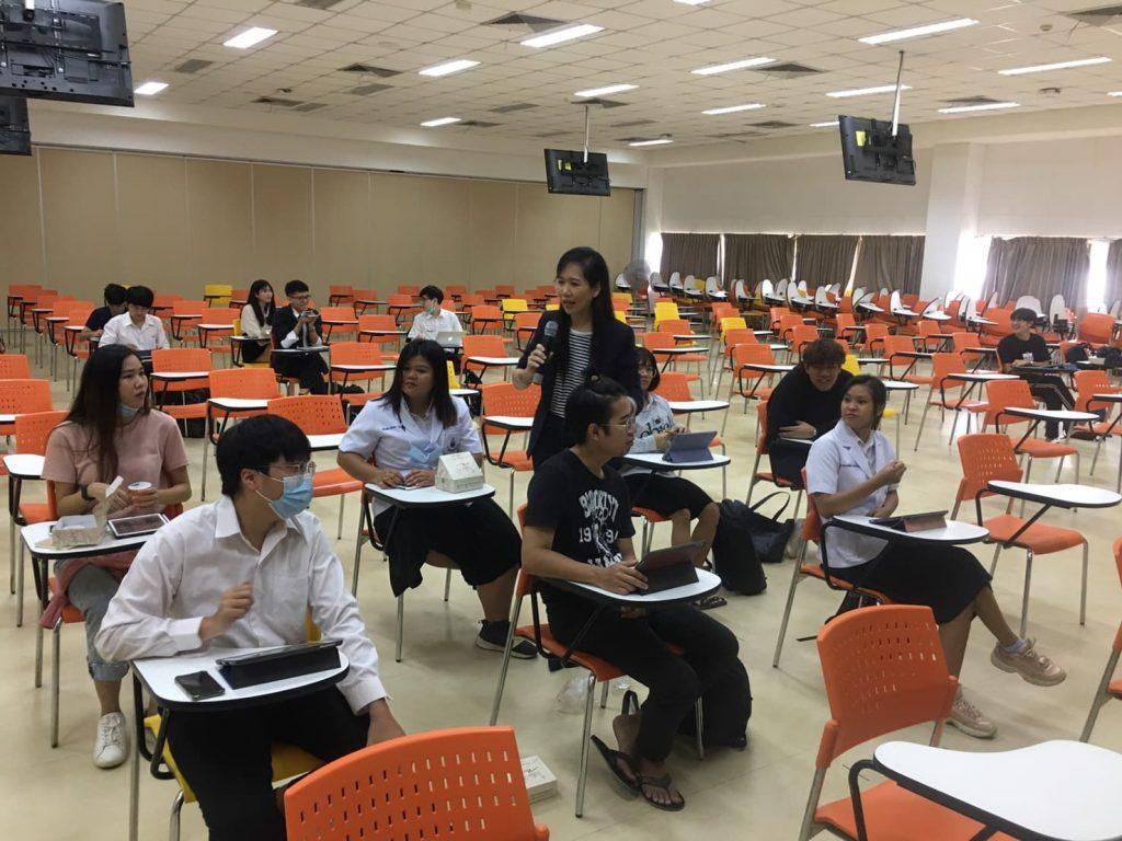 กองสื่อสารองค์กร มข. workshop นศ. เตรียมความรู้ สู่การเขียนข่าว PR ฝึกภาคสนามร่วม